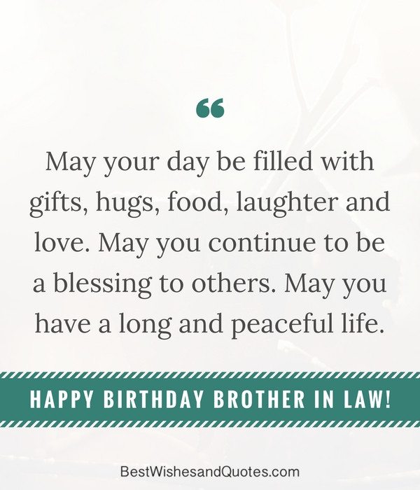 Best ideas about Birthday Quotes For Brother In Law . Save or Pin Happy Birthday Brother in Law Surprise and Say Happy Now.