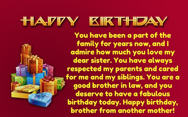 Best ideas about Birthday Quotes For Brother In Law . Save or Pin 30 Birthday Wishes for Brother in Law with Now.
