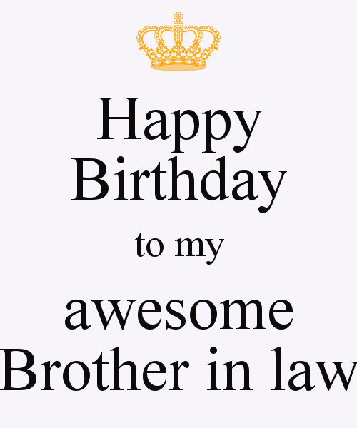 Best ideas about Birthday Quotes For Brother In Law . Save or Pin Happy Birthday Brother In Law Quotes Funny QuotesGram Now.
