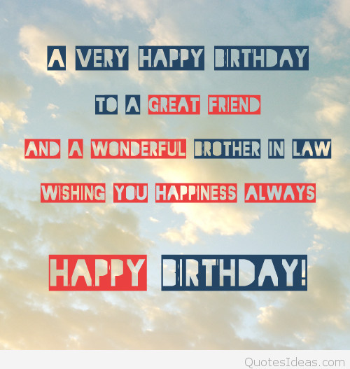 Best ideas about Birthday Quotes For Brother In Law . Save or Pin SHORT BIRTHDAY QUOTES FOR BROTHER IN LAW image quotes at Now.