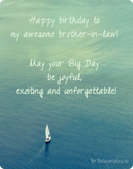 Best ideas about Birthday Quotes For Brother In Law . Save or Pin Happy Birthday Wishes For Brother In Law Now.