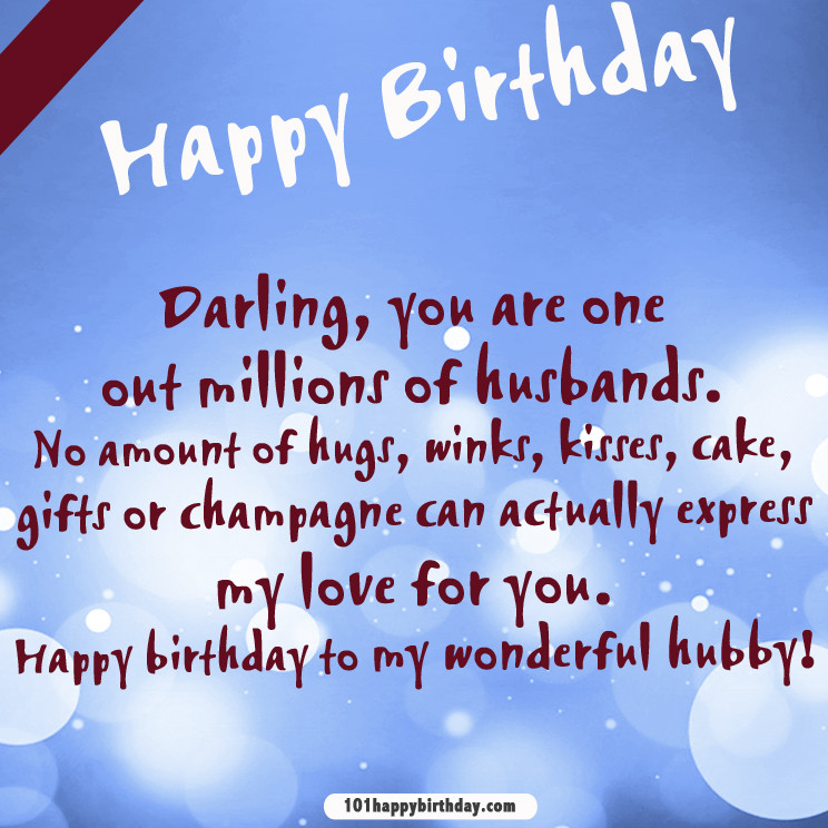 Best ideas about Birthday Quotes For Husband . Save or Pin Birthday Quotes Now.