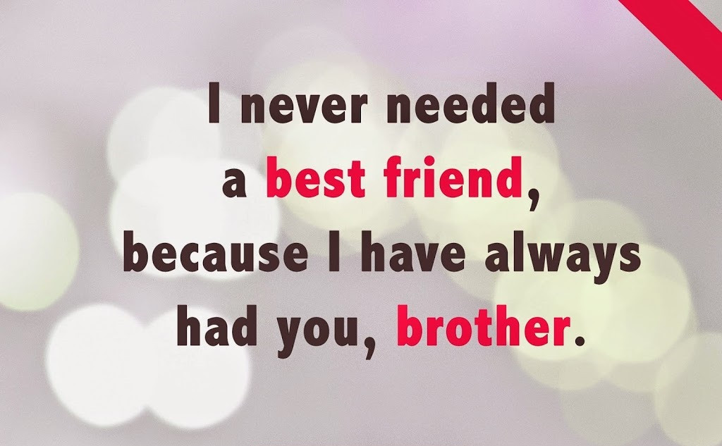Best ideas about Birthday Quotes For Little Brother . Save or Pin BIRTHDAY QUOTES FOR BROTHER FROM LITTLE SISTER image Now.