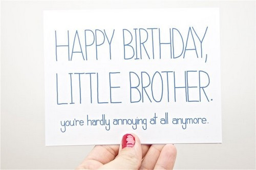Best ideas about Birthday Quotes For Little Brother . Save or Pin The 105 Happy Birthday Little Brother Now.