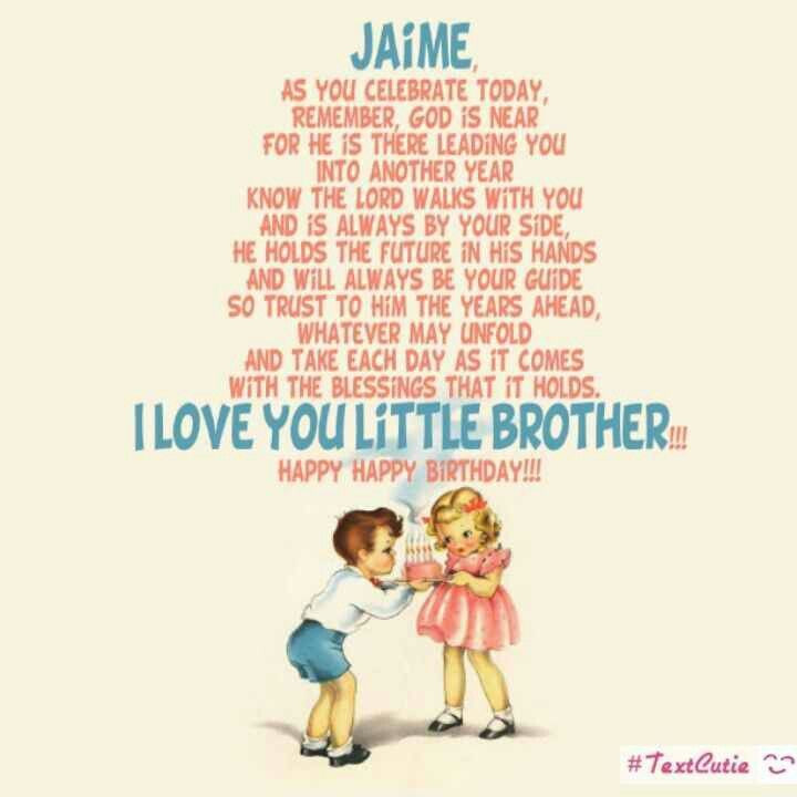 Best ideas about Birthday Quotes For Little Brother . Save or Pin Best 10 Little brother quotes ideas on Pinterest Now.