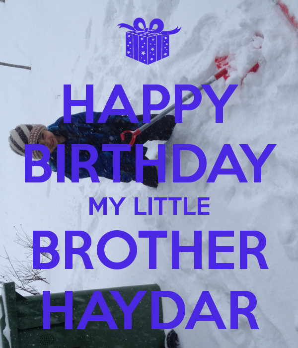 Best ideas about Birthday Quotes For Little Brother . Save or Pin Happy Birthday Little Brother Quotes QuotesGram Now.