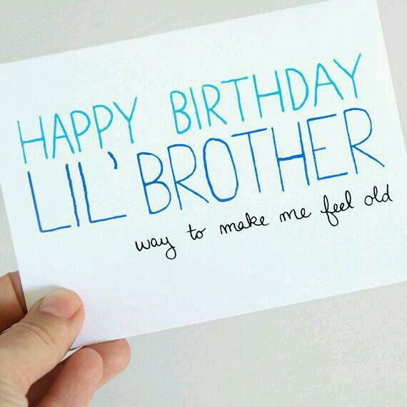 Best ideas about Birthday Quotes For Little Brother . Save or Pin Happy birthday little brother Birthday Now.