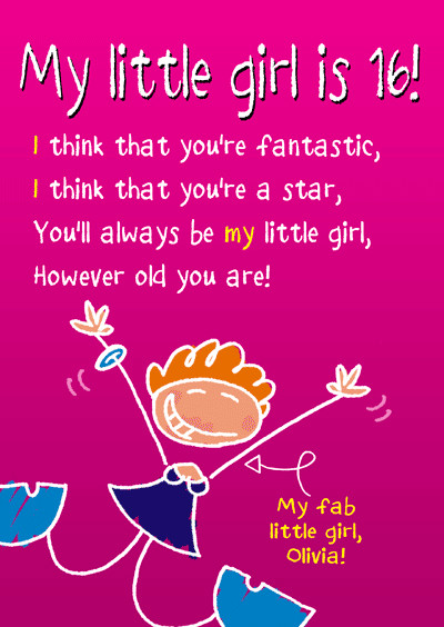 Best ideas about Birthday Quotes For Little Girl . Save or Pin Birthday Poem about teenage daughter always being your Now.