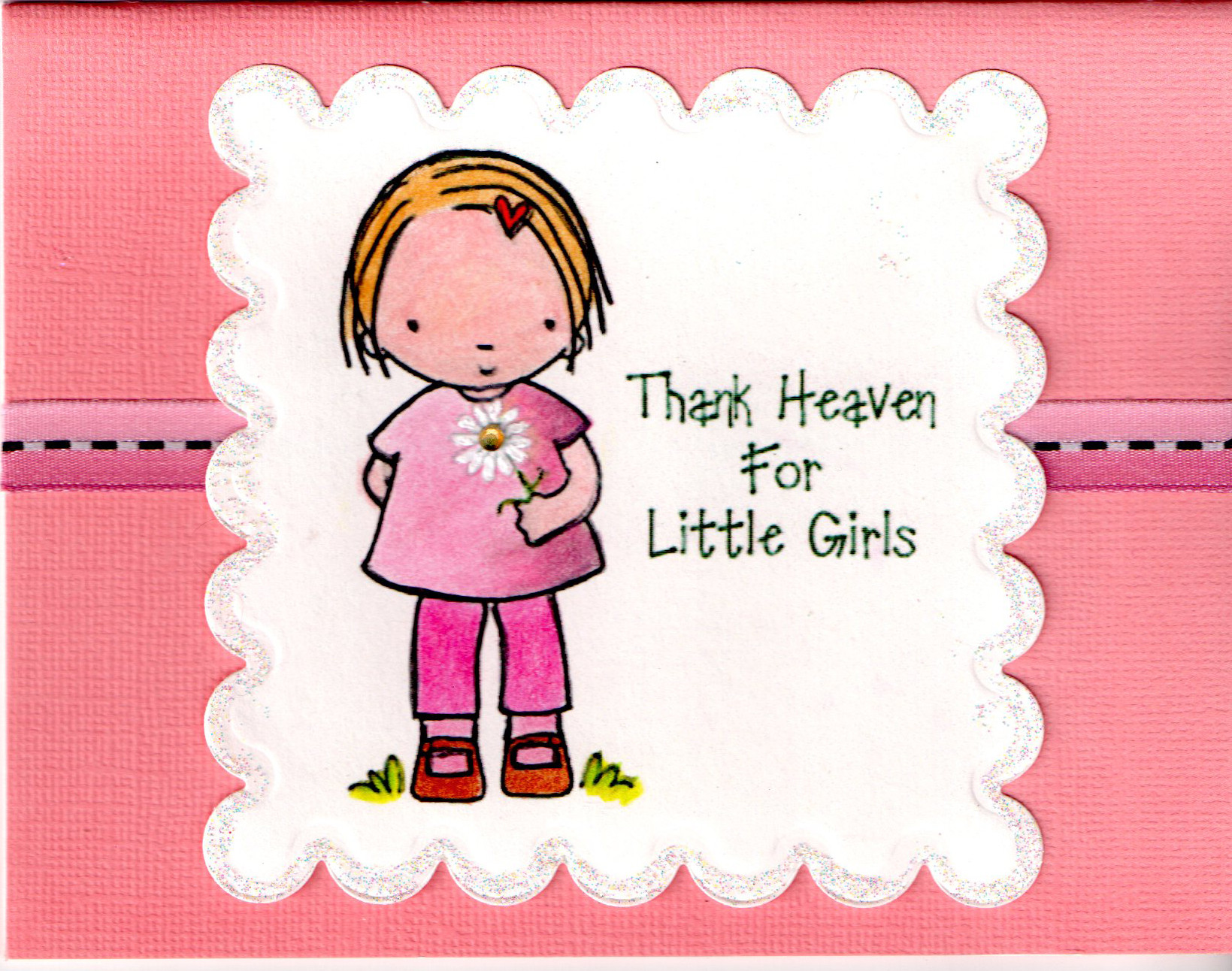 Best ideas about Birthday Quotes For Little Girl . Save or Pin Card Birthday Card Little Girl Now.