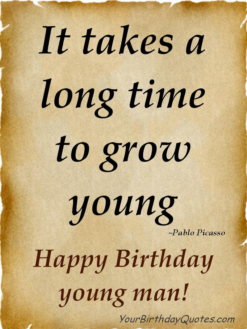 Best ideas about Birthday Quotes For Men . Save or Pin Long Time Friend Birthday Quotes QuotesGram Now.