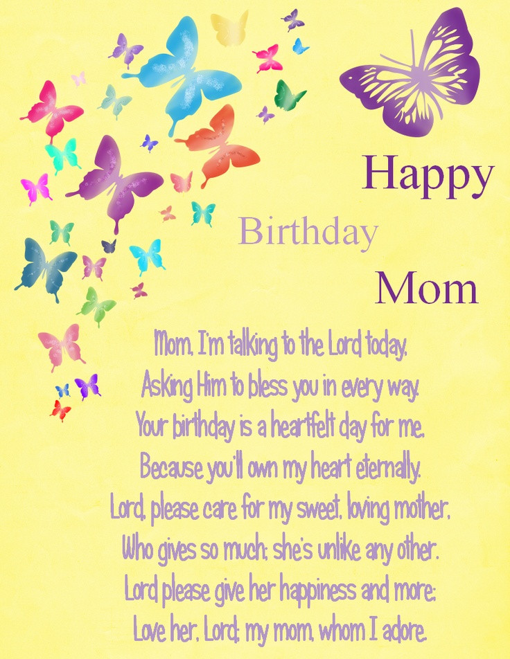 Best ideas about Birthday Quotes For Mom . Save or Pin 1000 images about happy birthday mom on Pinterest Now.