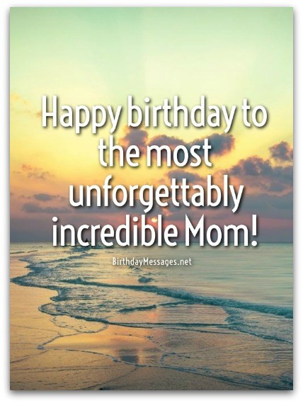 Best ideas about Birthday Quotes For Mom . Save or Pin Mom Birthday Wishes Special Birthday Messages for Mothers Now.