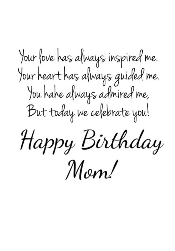 Best ideas about Birthday Quotes For Mom . Save or Pin Happy Birthday Mom 39 Quotes to Make Your Mom Cry With Now.