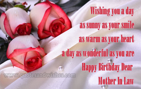 Best ideas about Birthday Quotes For Mother In Law . Save or Pin HAPPY BIRTHDAY QUOTES FOR EX MOTHER IN LAW image quotes at Now.