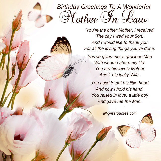Best ideas about Birthday Quotes For Mother In Law . Save or Pin Mother In Law In Heaven Quotes QuotesGram Now.