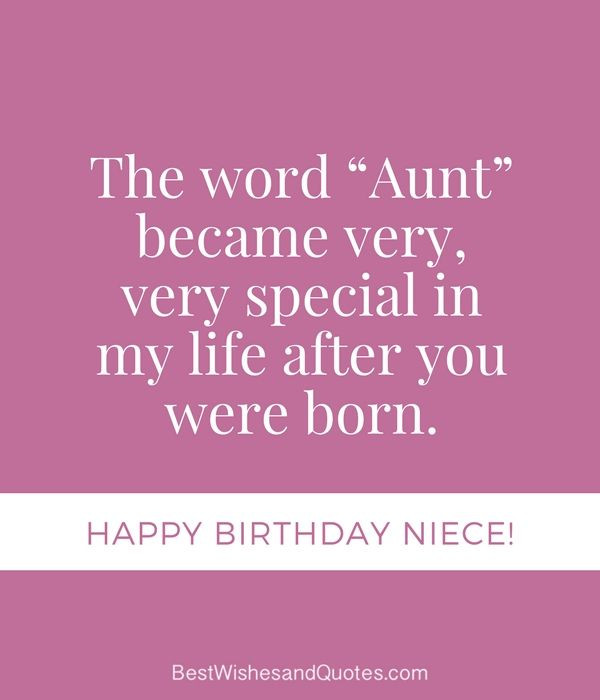 Best ideas about Birthday Quotes For Niece From Aunt . Save or Pin Happy Birthday Niece 31 Unique Messages that say Happy Now.