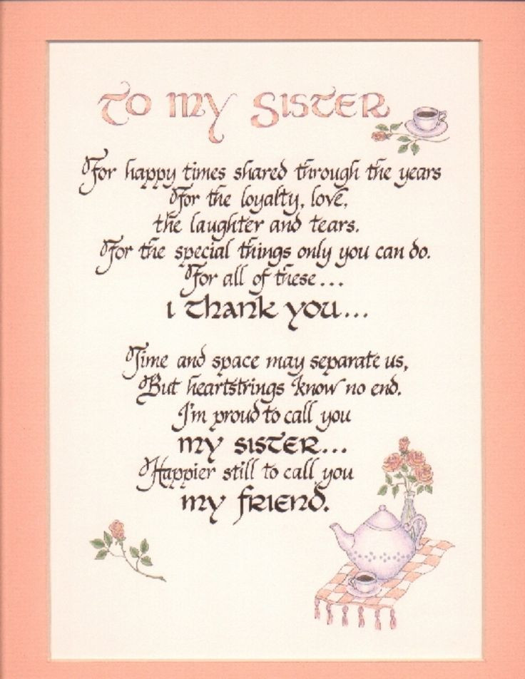 Best ideas about Birthday Quotes For Sisters . Save or Pin For you Talessia I miss you so much♥♥♥♥♥ Now.
