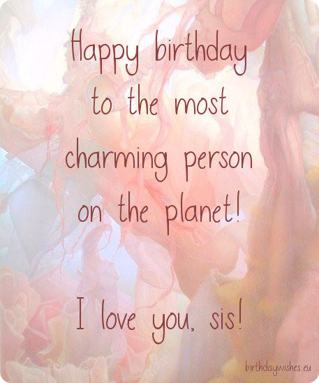 Best ideas about Birthday Quotes For Sisters . Save or Pin Happy Birthday Wishes For Younger Sister And Elder Sister Now.