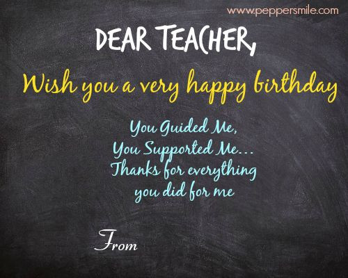 Best ideas about Birthday Quotes For Teacher . Save or Pin Best 25 Wishes for teacher ideas on Pinterest Now.