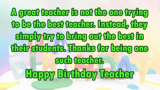 Best ideas about Birthday Quotes For Teacher . Save or Pin TOP 110 Sweet Happy Birthday Wishes for Family & Friends Now.