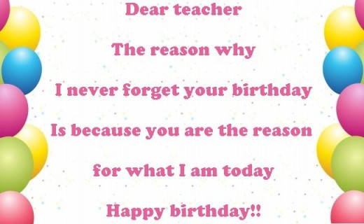 Best ideas about Birthday Quotes For Teacher . Save or Pin Funny Birthday Quotes For Teachers QuotesGram Now.
