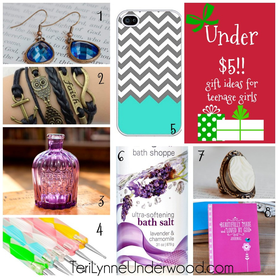 Best ideas about Birthday Return Gifts Under $5 . Save or Pin 30 Great Stocking Stuffers and Gifts for Teenage Girls Now.