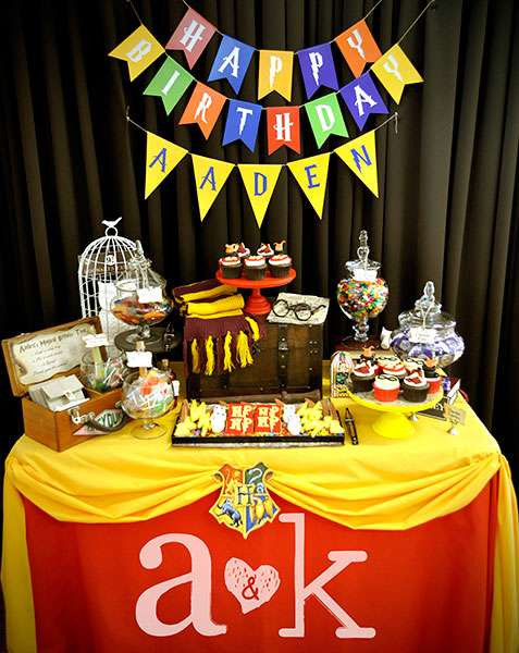 Best ideas about Birthday Return Gifts Under $5 . Save or Pin HOGWARTS Harry Potter Birthday Party Ideas Now.