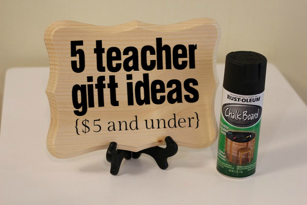 Best ideas about Birthday Return Gifts Under $5 . Save or Pin 5 Teacher Gift Ideas $5 and under Now.