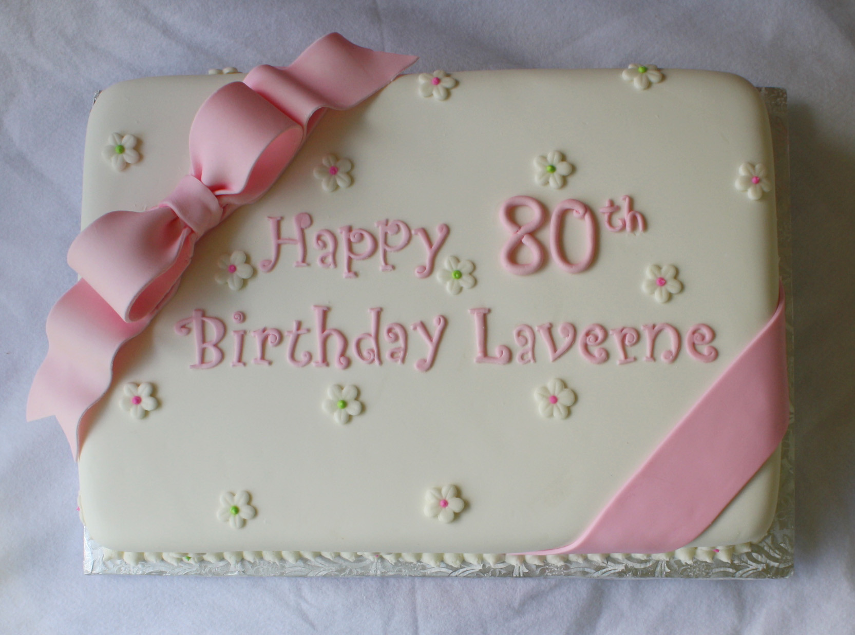 Best ideas about Birthday Sheet Cake . Save or Pin Pink & Green Sheet Cakes for 1st and 80th Birthdays Now.