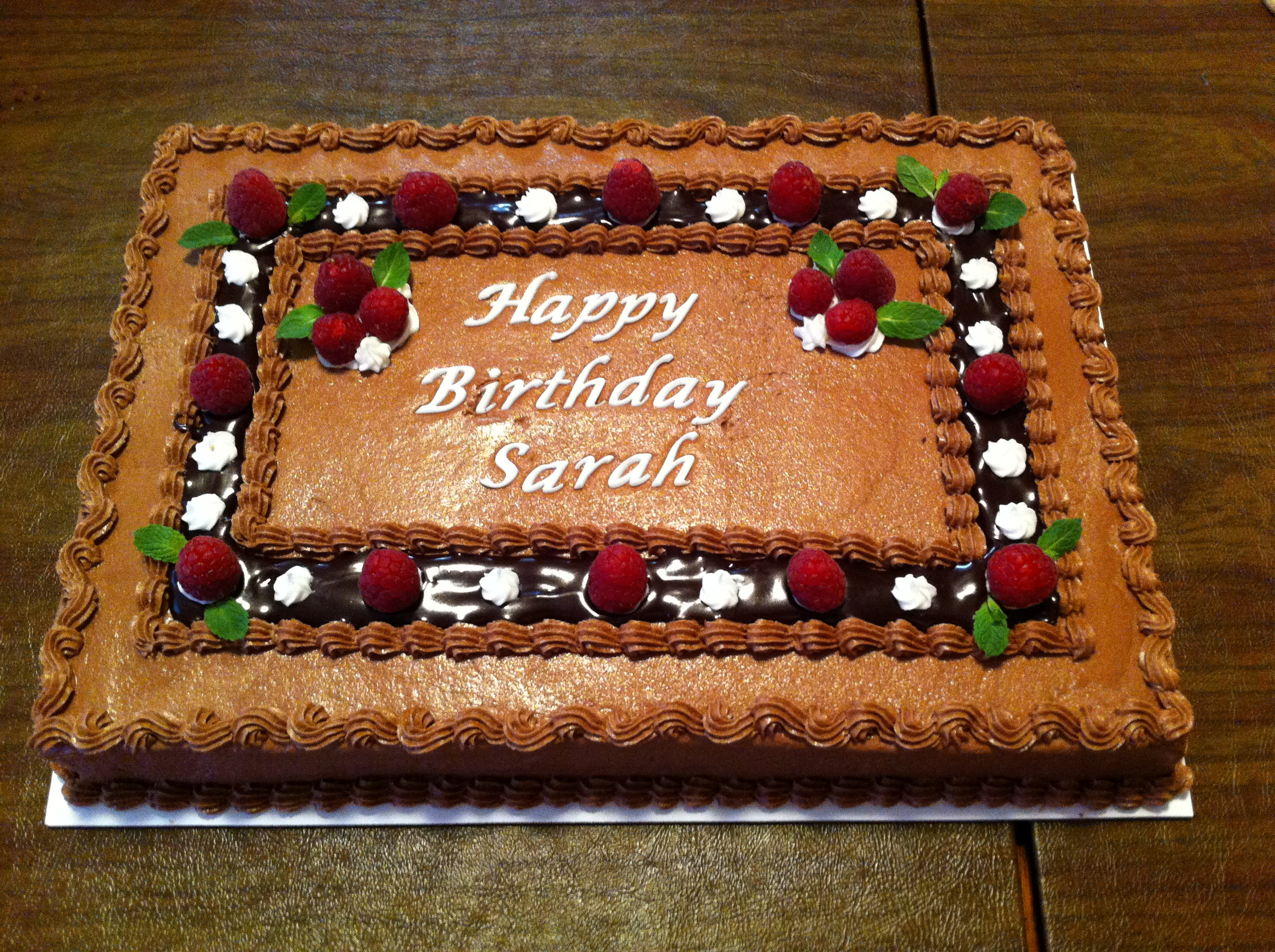 Best ideas about Birthday Sheet Cake . Save or Pin Sheet cake photos Now.