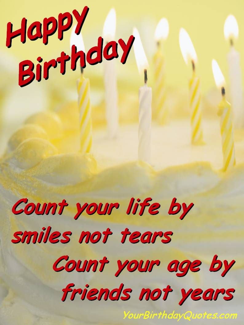 Best ideas about Birthday Thanks Quotes . Save or Pin 70th Birthday Sayings Friendship Birthday Sayings Now.