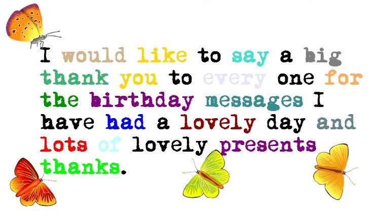 Best ideas about Birthday Thanks Quotes . Save or Pin Thank You Everyone Quotes QuotesGram Now.