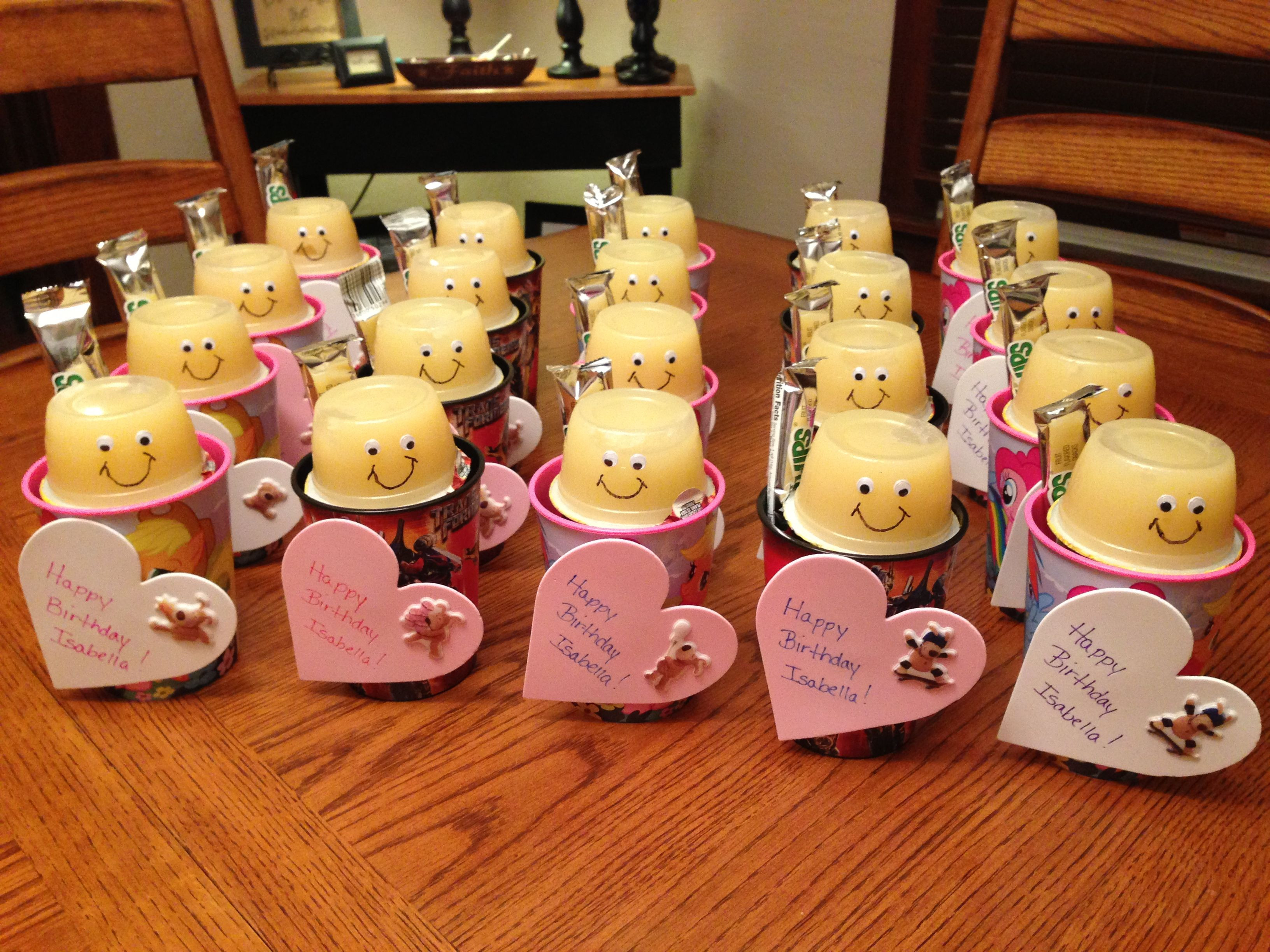 Best ideas about Birthday Treat Ideas . Save or Pin Classroom birthday treats that I made for Isabella s class Now.