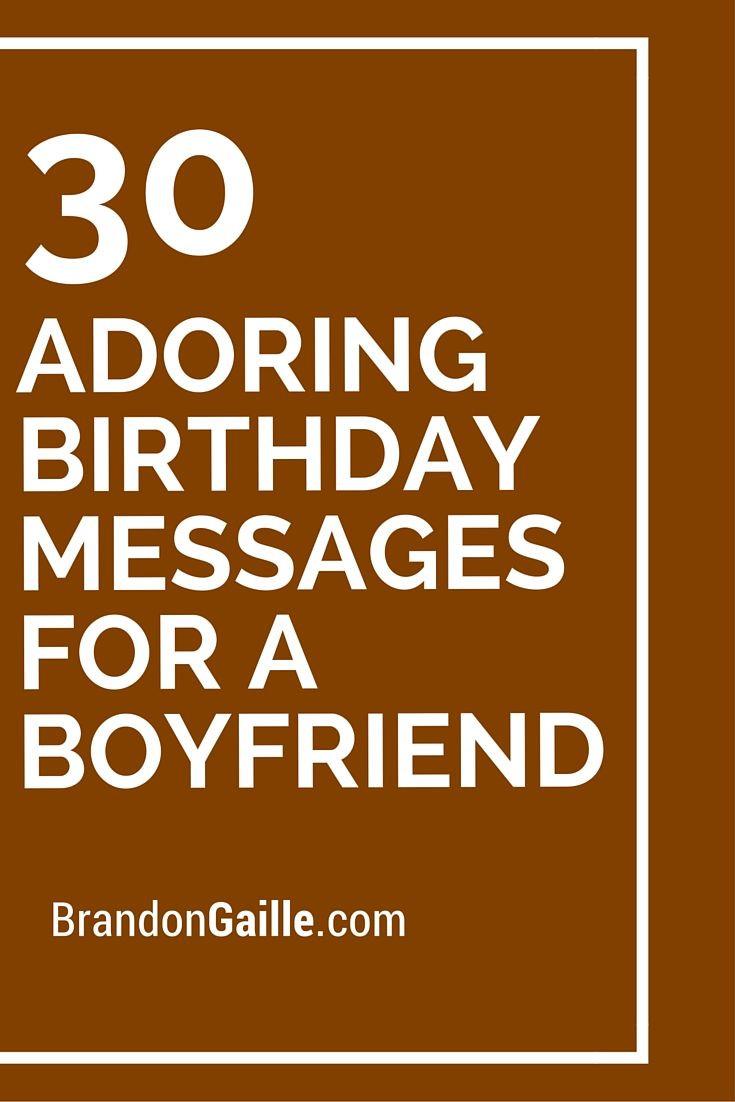 Best ideas about Birthday Wish For Boyfriend . Save or Pin 1000 ideas about Boyfriend Birthday Gifts on Pinterest Now.