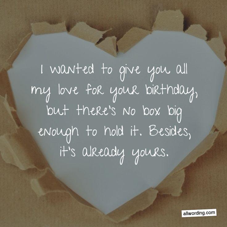 Best ideas about Birthday Wish For Boyfriend . Save or Pin Best 25 Happy birthday boyfriend ideas on Pinterest Now.