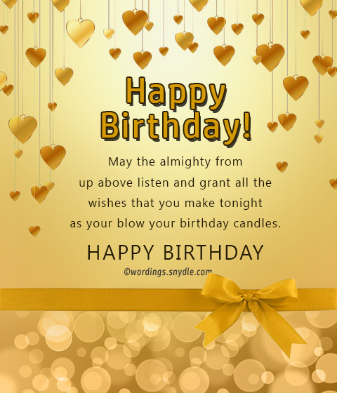 Best ideas about Birthday Wish For Friend . Save or Pin Birthday Wishes For Best Friend Female Wordings and Messages Now.