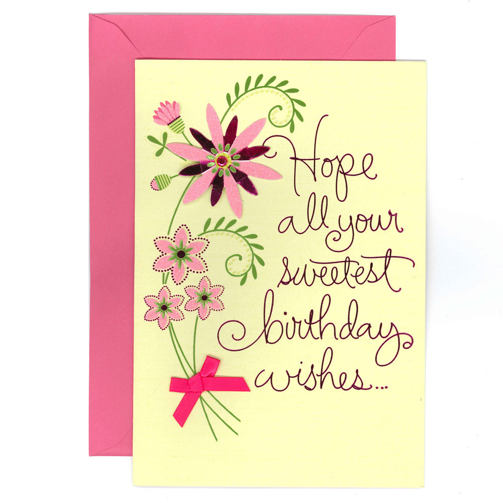 Best ideas about Birthday Wish Hallmark . Save or Pin Hallmark Greeting Cards Hallmark Birthday Cards Hallmark Now.