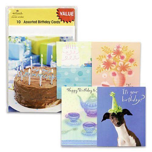 Best ideas about Birthday Wish Hallmark . Save or Pin Pack of 60 Hallmark Assorted Happy Birthday Greeting Now.