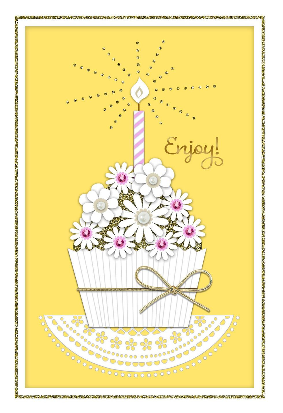 Best ideas about Birthday Wish Hallmark . Save or Pin Elegant Cupcake Wishes Birthday Card Greeting Cards Now.