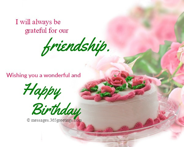 Best ideas about Birthday Wish To A Friend . Save or Pin Happy Birthday Wishes For Friends 365greetings Now.