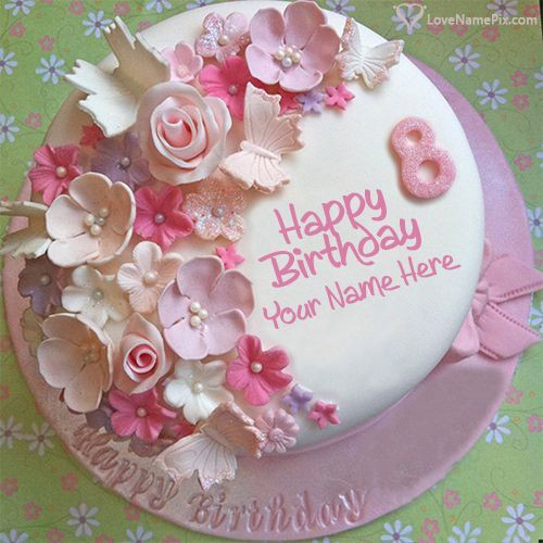 Best ideas about Birthday Wishes Cake With Name . Save or Pin Best 25 Write name on cake ideas on Pinterest Now.