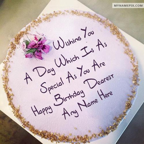 Best ideas about Birthday Wishes Cake With Name . Save or Pin Best Wish Birthday Cake With Name Now.