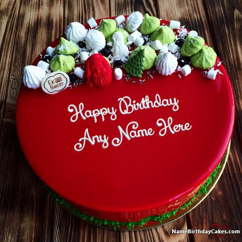 Best ideas about Birthday Wishes Cake With Name . Save or Pin Best Red Velvet Cake For Friends Birthday Wishes Now.