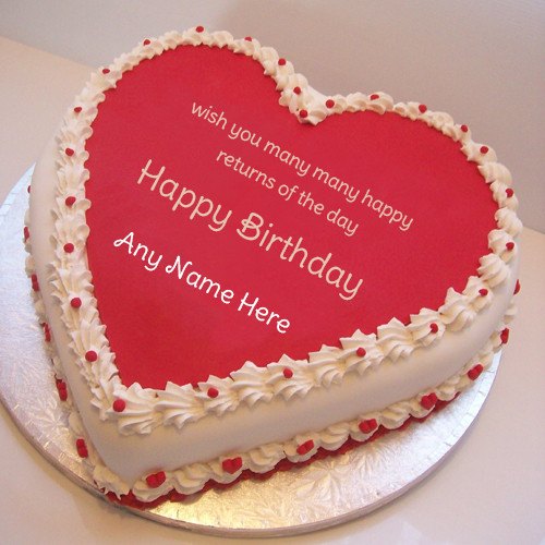 Best ideas about Birthday Wishes Cake With Name . Save or Pin birthday cake with name edit Now.