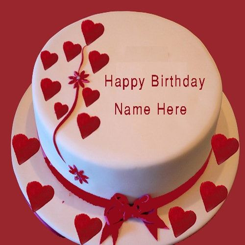 Best ideas about Birthday Wishes Cake With Name . Save or Pin Happy Birthday Cake For My Girlfriend With Name Edit Now.