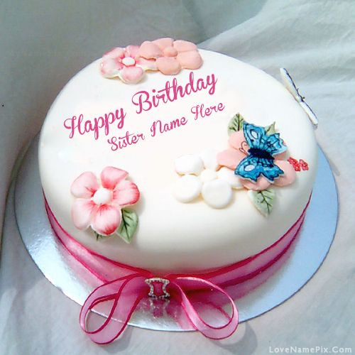 Best ideas about Birthday Wishes Cake With Name . Save or Pin Sisters Birthday Wishes Cake With Name Happy Now.