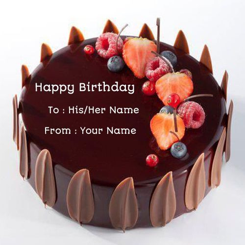 Best ideas about Birthday Wishes Cake With Name . Save or Pin 78 images about Name Birthday Cakes on Pinterest Now.