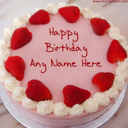 Best ideas about Birthday Wishes Cake With Name . Save or Pin Write Friend Name Birthday Cake Pics For Wishes Now.