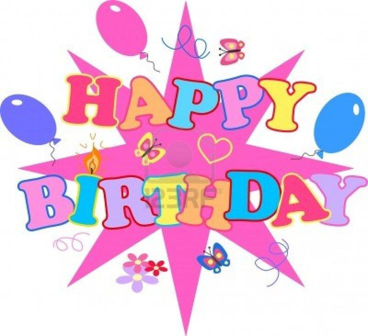 Best ideas about Birthday Wishes Clip Art . Save or Pin 443 best images about Happy Birthday clip art on Pinterest Now.