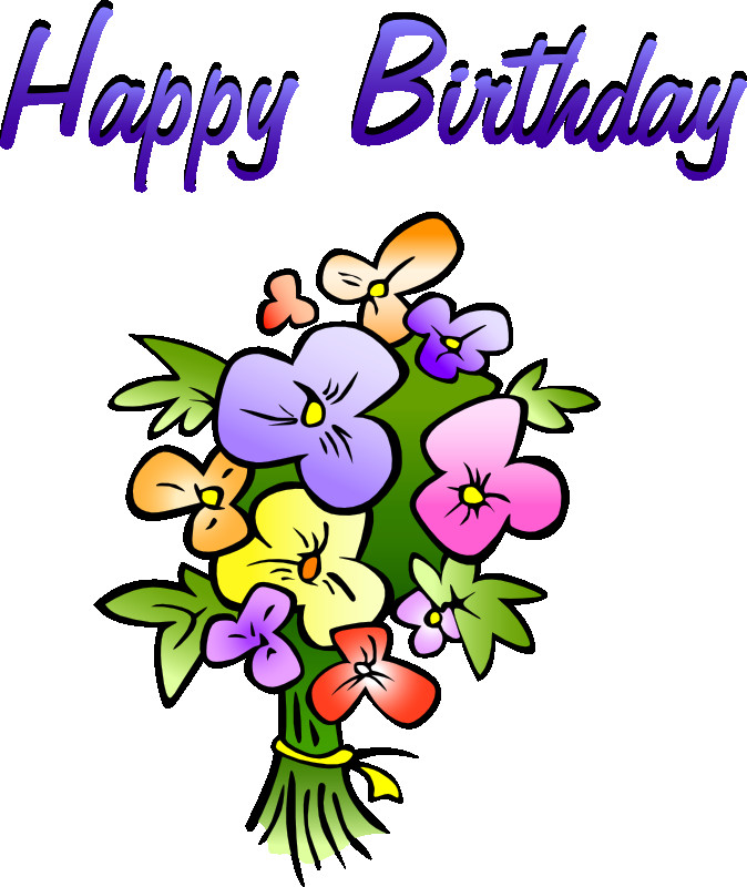 Best ideas about Birthday Wishes Clip Art . Save or Pin Free Birthday Clipart Animations & Vectors Now.